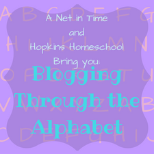 Blogging Through the Alphabet (1)