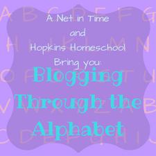Blogging Through the Alphabet (1)